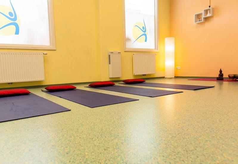 GesundheitLernen Yogamatten mit Polster