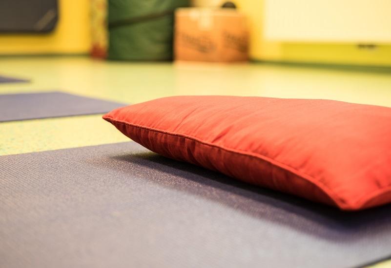 GesundheitLernen Yogamatte mit Polster