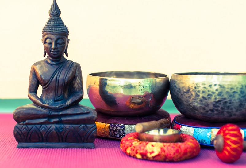 Klangschalen & Buddha