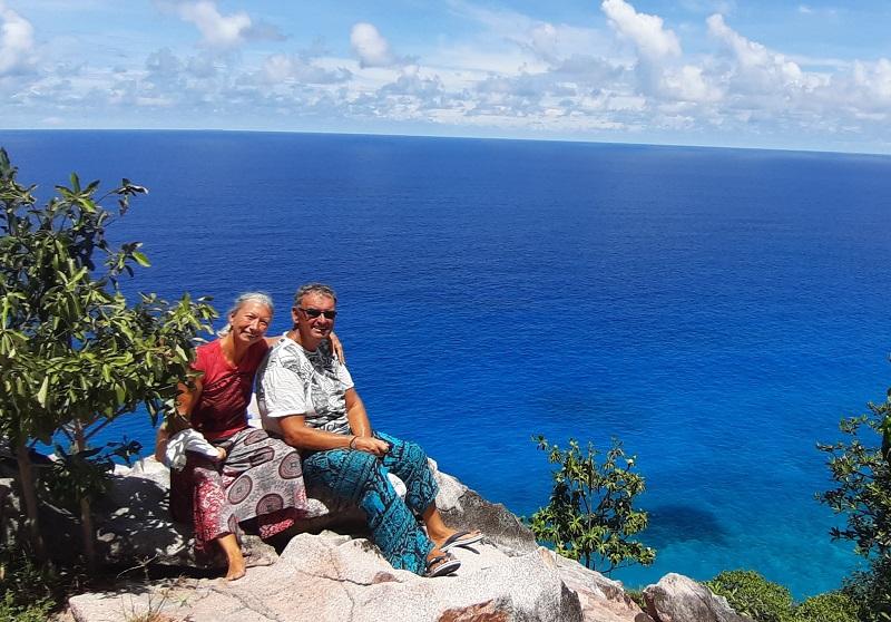 Hermann und Michi auf den Seychellen